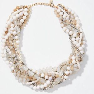 NWT Loft Beaded Multistrand Necklace